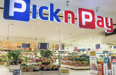Pick n Pay supermarkets